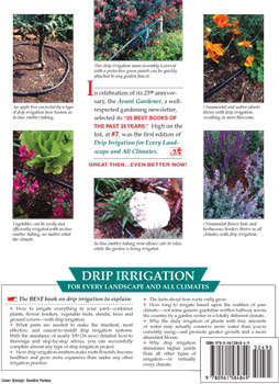 Drip irrigation book back cover